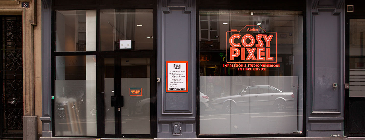 Vitrine Cosy Pixel - ©Maxime Flipo